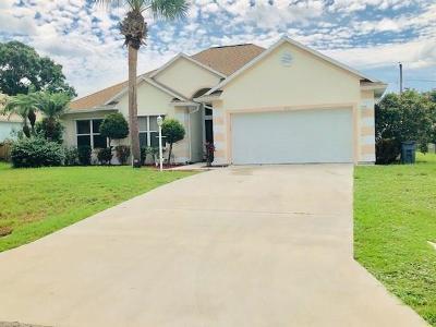 Sebastian FL Single Family Home For Sale: $259,900