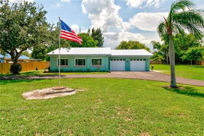 Fort Pierce Single Family Home For Sale: 3589 Old Dixie Highway