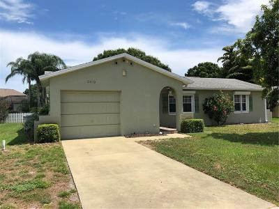 Vero Beach, Indian River Shores, Melbourne Beach, Melbourne, Sebastian, Palm Bay, Orchid Island, Micco, Indialantic, Satellite Beach Single Family Home For Sale: 2410 6th Street