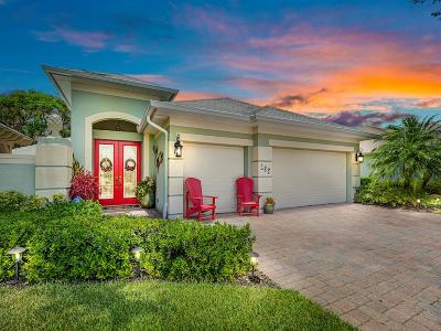 Vero Beach Single Family Home For Sale: 295 SW Bourdeaux Drive