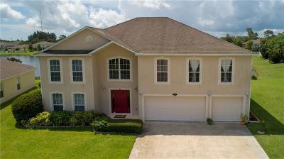 Vero Beach FL Single Family Home For Sale: $305,000