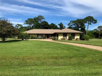 Vero Beach Single Family Home For Sale: 716 32nd Terrace