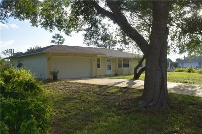 Sebastian Single Family Home For Sale: 744 Lake Drive