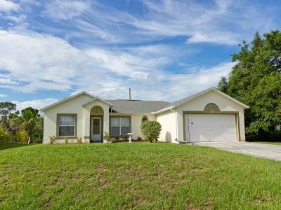 Sebastian Single Family Home For Sale: 482 Candle Avenue