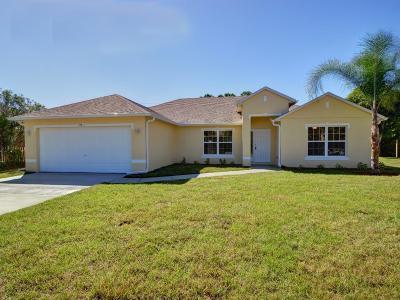 Sebastian Single Family Home For Sale: 525 Croton Avenue
