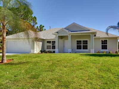 Sebastian Single Family Home For Sale: 501 Croton Avenue