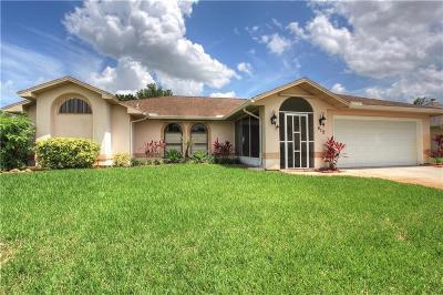 Sebastian Single Family Home For Sale: 412 Joy Haven Drive