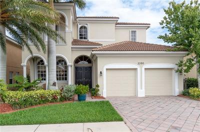 Vero Beach, Indian River Shores, Melbourne Beach, Melbourne, Sebastian, Palm Bay, Orchid Island, Micco, Indialantic, Satellite Beach Single Family Home For Sale: 3320 Westford Circle