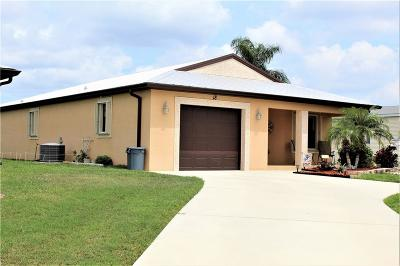 Fort Pierce Single Family Home For Sale: 18 Vera Cruz