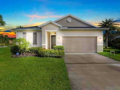 Sebastian Single Family Home For Sale: 177 Stony Point Drive