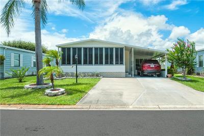Sebastian Single Family Home For Sale: 830 Oleander Circle
