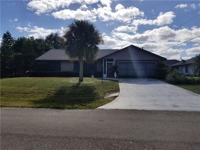 Sebastian Single Family Home For Sale: 638 Atlantus Terrace