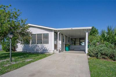 Sebastian Single Family Home For Sale: 715 Gladiolus Drive
