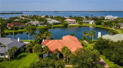Vero Beach, Indian River Shores, Melbourne Beach, Sebastian, Palm Bay, Orchid Island, Micco, Indialantic, Satellite Beach Single Family Home For Sale: 345 Riverway Drive