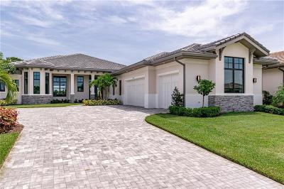 Vero Beach, Indian River Shores, Melbourne Beach, Sebastian, Palm Bay, Orchid Island, Micco, Indialantic, Satellite Beach Single Family Home For Sale: 2349 Grand Harbor Reserve