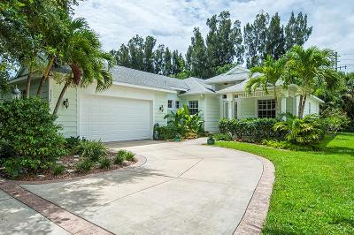 Vero Beach Single Family Home For Sale: 9316 Frangipani Drive