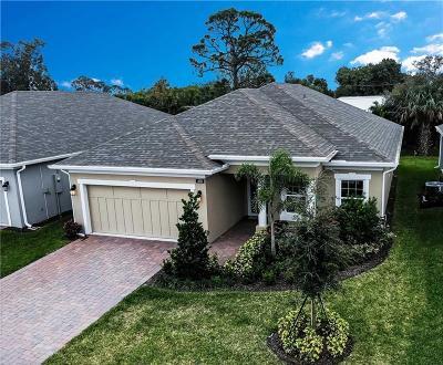 Sebastian Single Family Home For Sale: 408 Sandcrest Circle