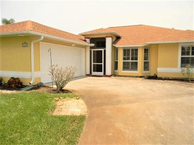 Sebastian Single Family Home For Sale: 129 Wimbrow Drive