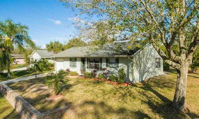 Sebastian Single Family Home For Sale: 1690 Seahouse Street
