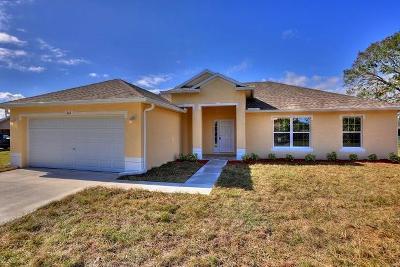 Sebastian Single Family Home For Sale: 531 Balboa Street