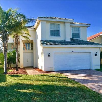 Vero Beach Single Family Home For Sale: 1871 Grey Falcon Circle