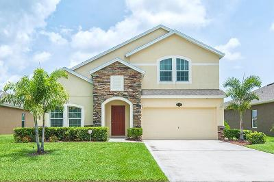 Vero Beach Single Family Home For Sale: 8190 Westfield Circle