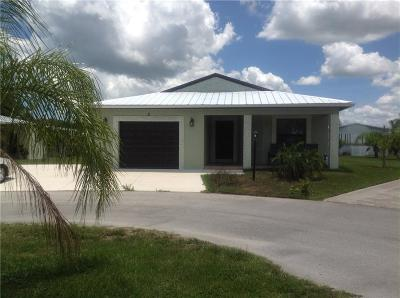 Fort Pierce Single Family Home For Sale: 3 Grande Camino Court