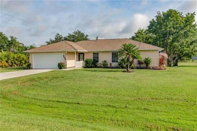 Sebastian Single Family Home For Sale: 8466 Floraland Avenue