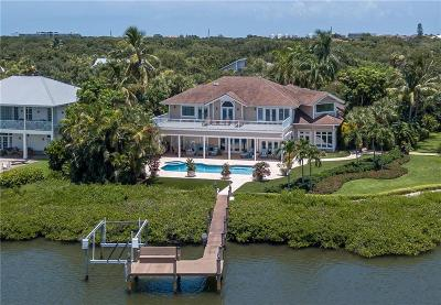 Vero Beach, Indian River Shores, Melbourne Beach, Sebastian, Palm Bay, Orchid Island, Micco, Indialantic, Satellite Beach Single Family Home For Sale: 1321 Indian Mound Trail
