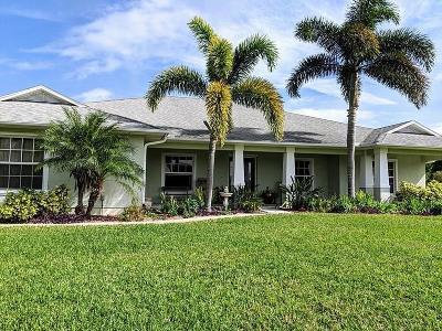Sebastian Single Family Home For Sale: 741 Easy Street