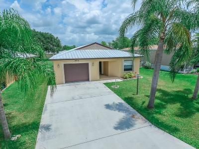 Fort Pierce Single Family Home For Sale: 14434 Azucena Court