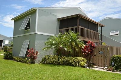 Sebastian FL Condo/Townhouse For Sale: $134,995