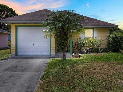 Vero Beach Single Family Home For Sale: 1655 SW 19th Avenue