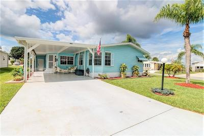 Sebastian Single Family Home For Sale: 482 Papaya Circle