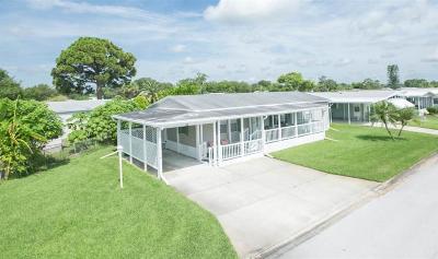Sebastian FL Single Family Home For Sale: $189,000