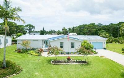 Sebastian Single Family Home For Sale: 1047 Sebastian Road
