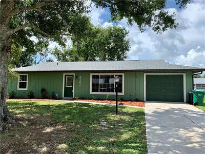 Fort Pierce Single Family Home For Sale: 8107 Penny Lane