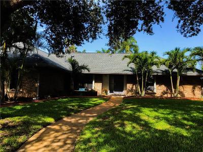 Melbourne, Melbourne Beach Single Family Home For Sale: 541 Rio Bello Corte