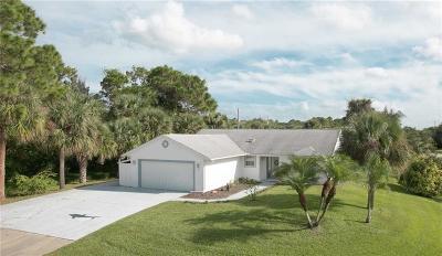 Sebastian Single Family Home For Sale: 592 Caravan Terrace