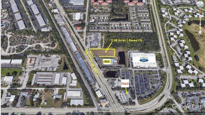 Vero Beach, Indian River Shores, Melbourne Beach, Melbourne, Sebastian, Palm Bay, Orchid Island, Micco, Indialantic, Satellite Beach Residential Lots & Land For Sale: 580 Us 1st Highway
