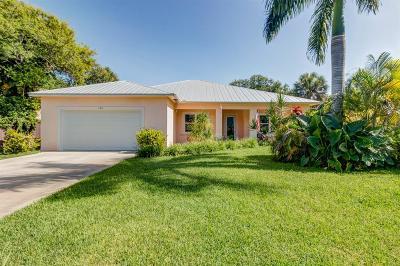 Melbourne, Melbourne Beach Single Family Home For Sale: 106 Margarita Road