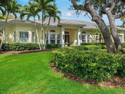 Vero Beach, Indian River Shores, Melbourne Beach, Sebastian, Palm Bay, Orchid Island, Micco, Indialantic, Satellite Beach Single Family Home For Sale: 4 Sea Colony Drive