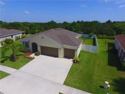Sebastian Single Family Home For Sale: 210 Barbossa Drive