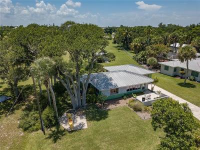 Sebastian Single Family Home For Sale: 13025 Indian River Drive