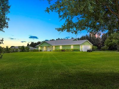 Vero Beach Single Family Home For Sale: 7075 57th Street