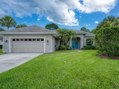 Vero Beach Single Family Home For Sale: 6443 34th Place