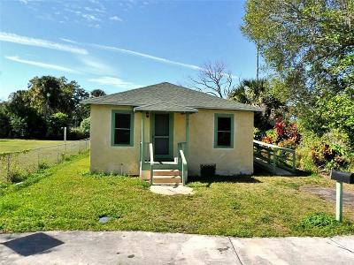 Fort Pierce Single Family Home For Sale: 427 10th Street