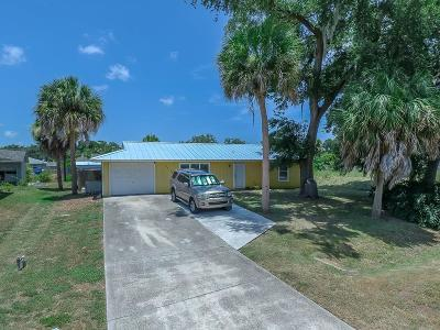 Fort Pierce Single Family Home For Sale: 7706 Citrus Park Boulevard