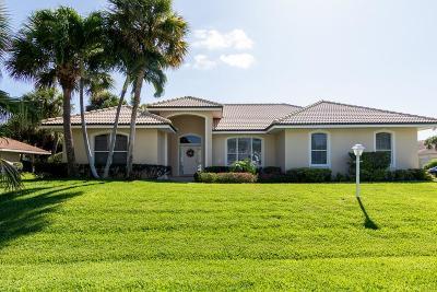 Vero Beach Single Family Home For Sale: 1124 Admirals Walk