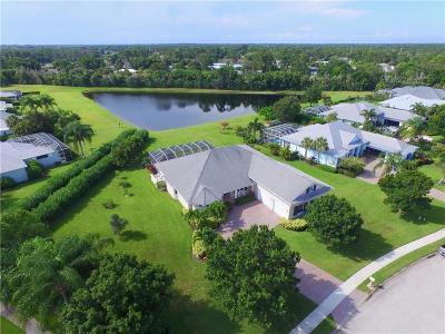 Sebastian Single Family Home For Sale: 101 King Fisher Way